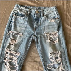 AE button fly denim jeans